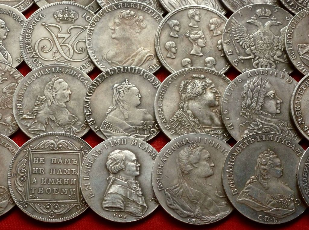 Царские серебряные монеты картинки